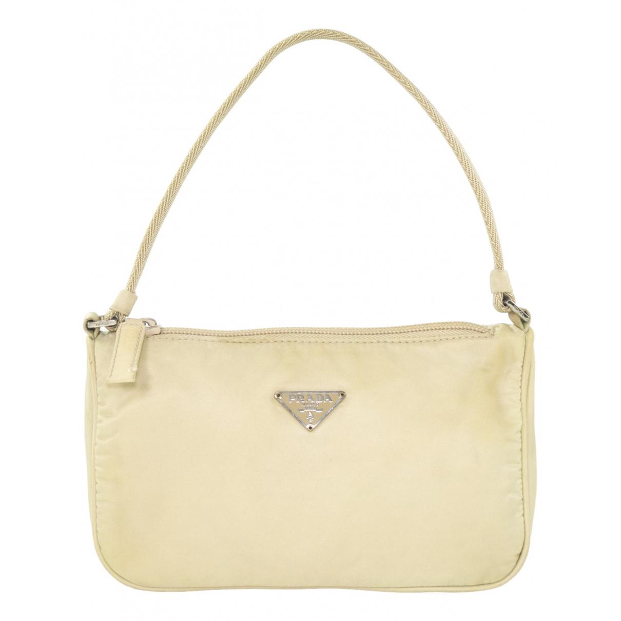 Prada Tessuto  Ecru handbag for Women \N