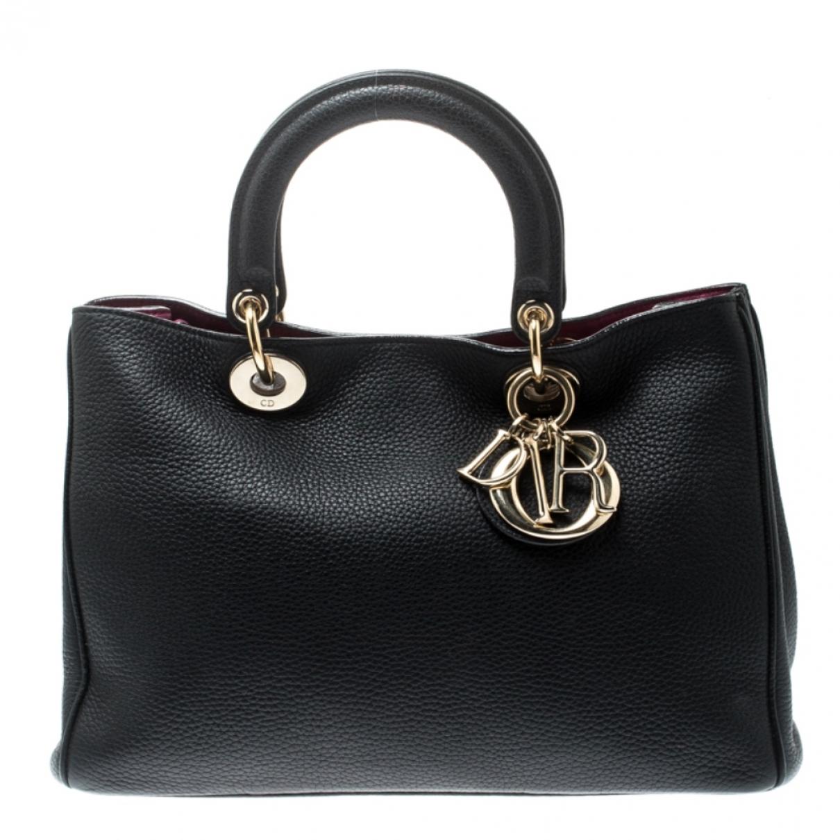 Dior - Sac a main Diorissimo pour femme en cuir - noir