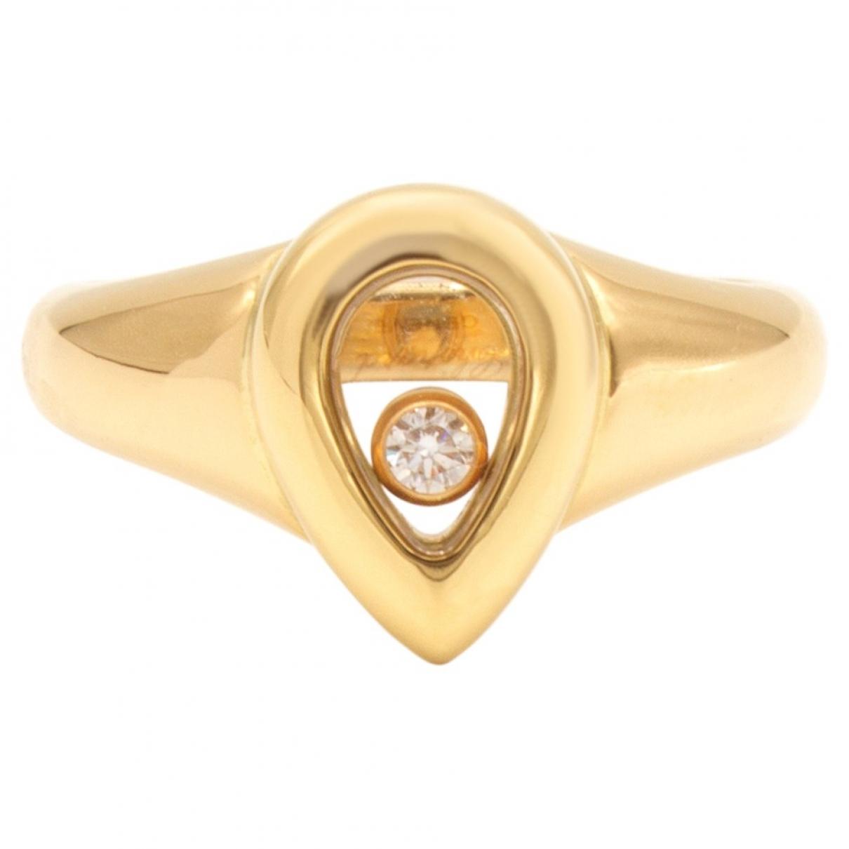 Anillo Happy Diamonds de Oro amarillo Chopard