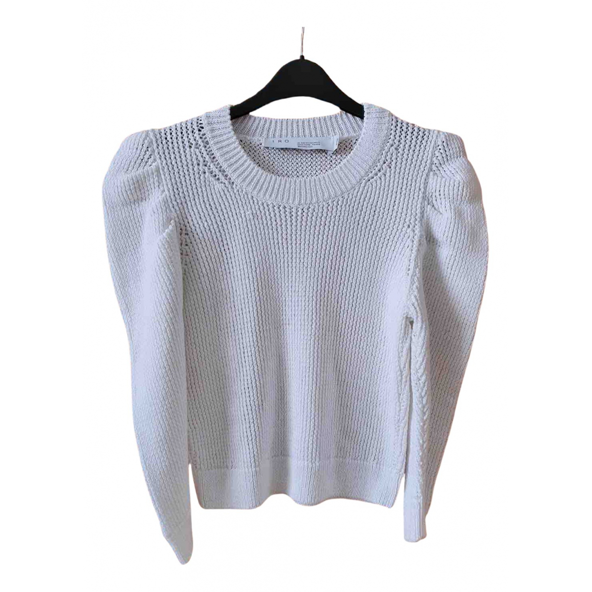 Iro N White Cotton Knitwear for Women M International