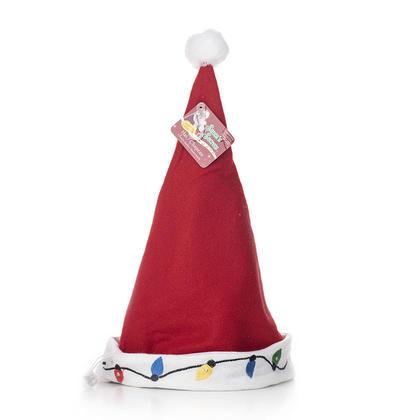Bonnet de Noel lumineux brodé à 3 fonctions, Fonctionnant sur batterie - Santa's Secrets