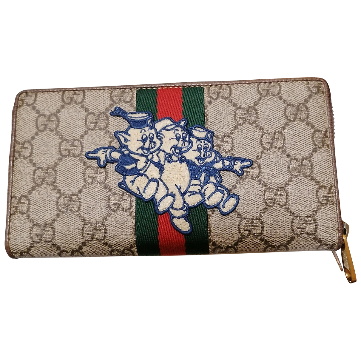 Gucci Ophidia Multicolour Cloth wallet for Women N