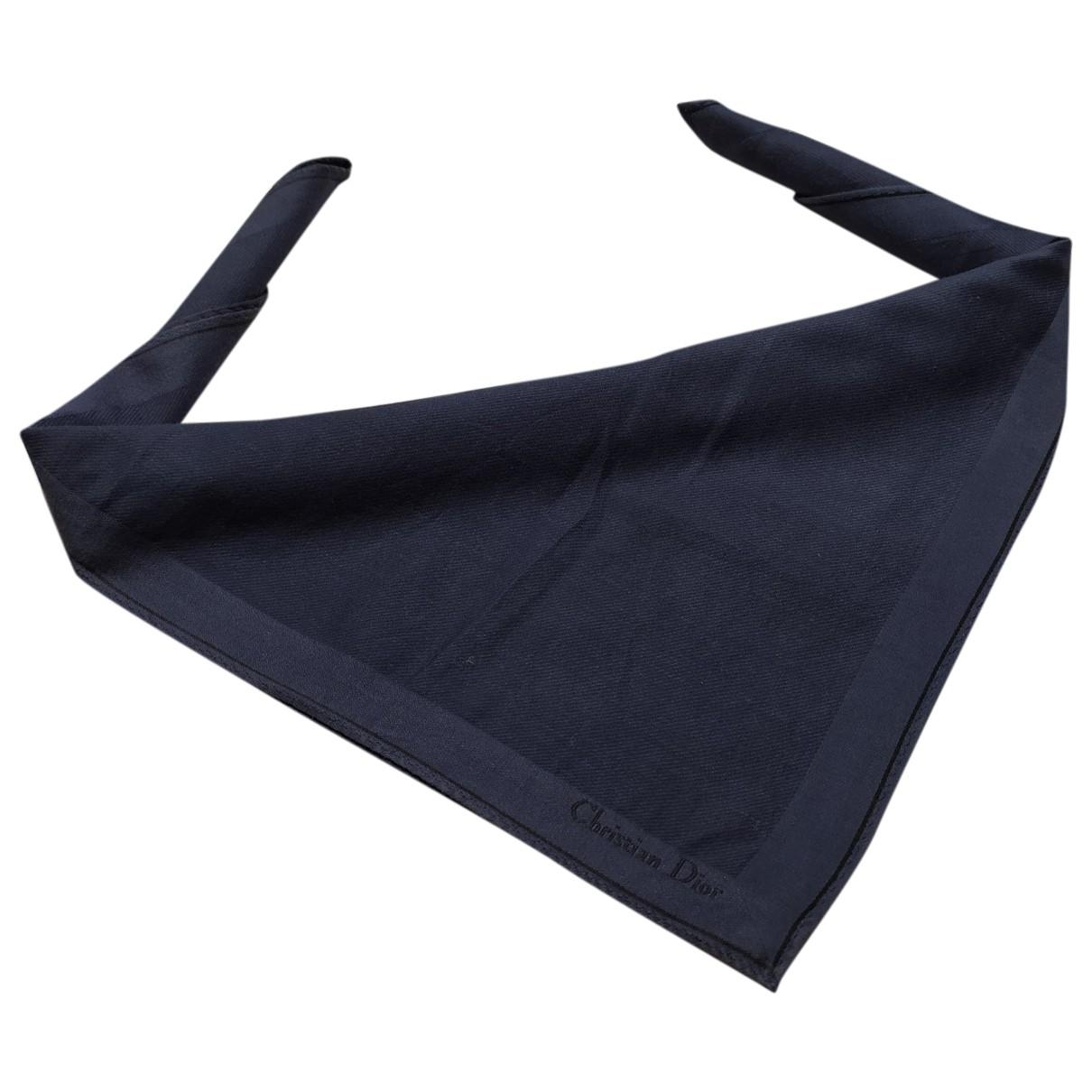 Dior \N Tuecher in  Blau Baumwolle