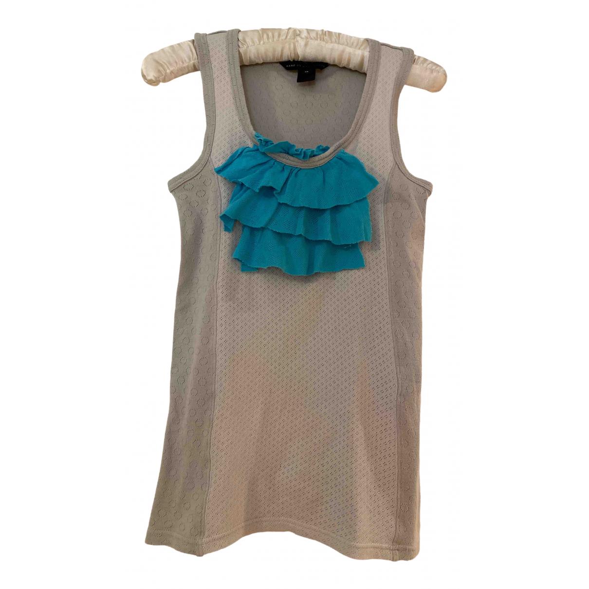 Marc By Marc Jacobs - Top   pour femme en coton - bleu