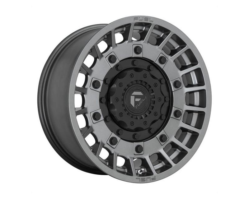 Fuel D726 Militia Wheel 17x9 6x135/6x139.7 1 Matte Anthracite And Black
