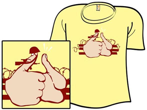 Thumb War T Shirt