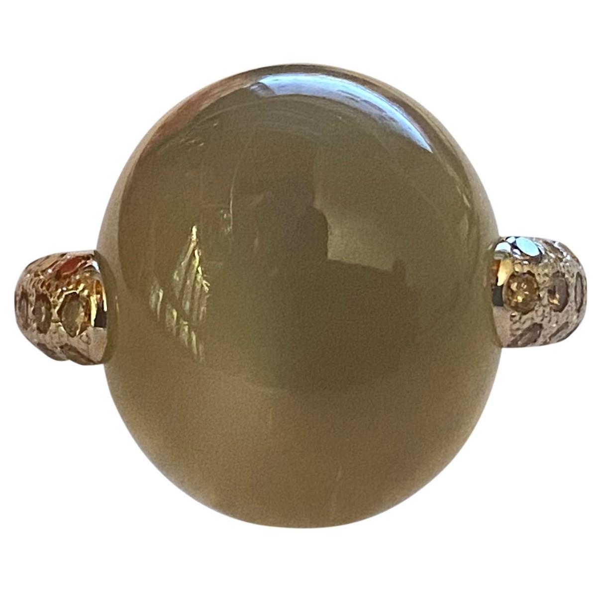 Pomellato - Bague Luna pour femme en or blanc