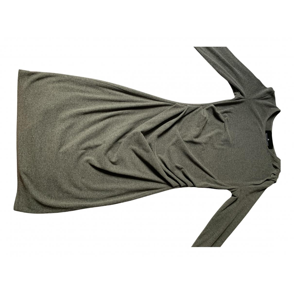 Designers Remix N Grey Cotton - elasthane dress for Women S International