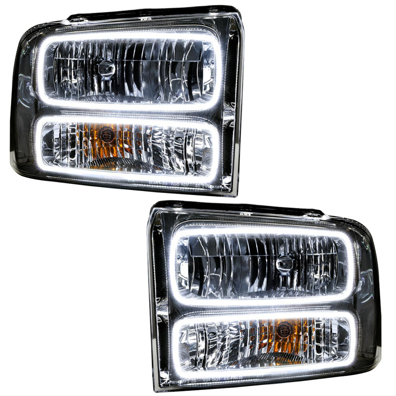 Oracle Lighting 7146-335 2005 Ford Excursion SMD HL - Chrome ColorSHIFT - BC1