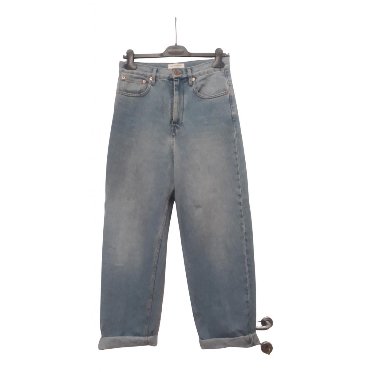 Isabel Marant Etoile N Blue Cotton Jeans for Women 36 FR
