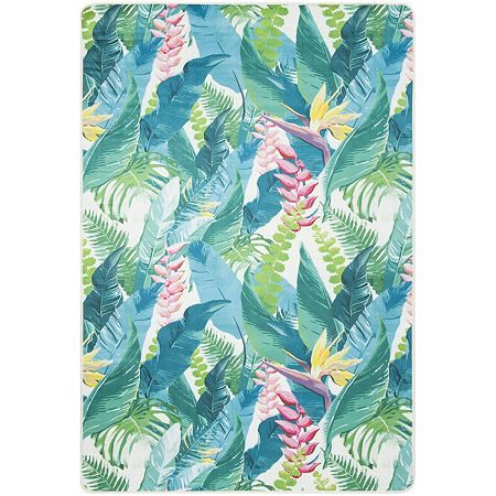 Safavieh Daytona Collection Karena Floral Area Rug, One Size , Multiple Colors