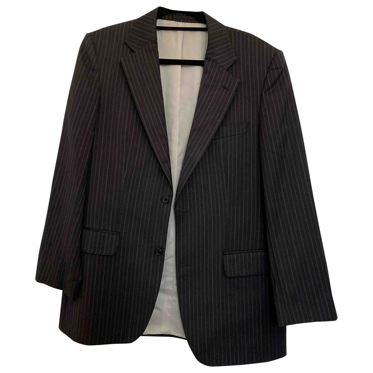 Boss \N Black Wool Suits for Men 50 FR