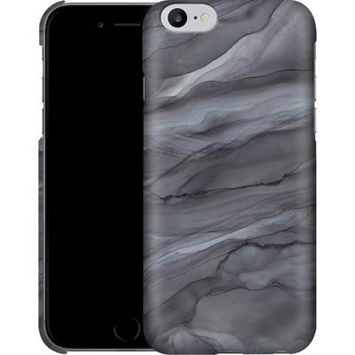 Apple iPhone 6s Plus Smartphone Huelle - Black Watercolour Marble von Becky Starsmore