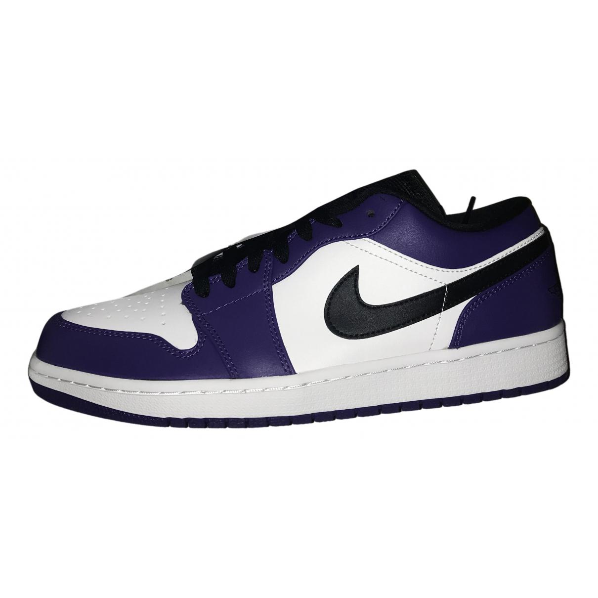 Jordan - Baskets Air Jordan 1  pour homme - violet