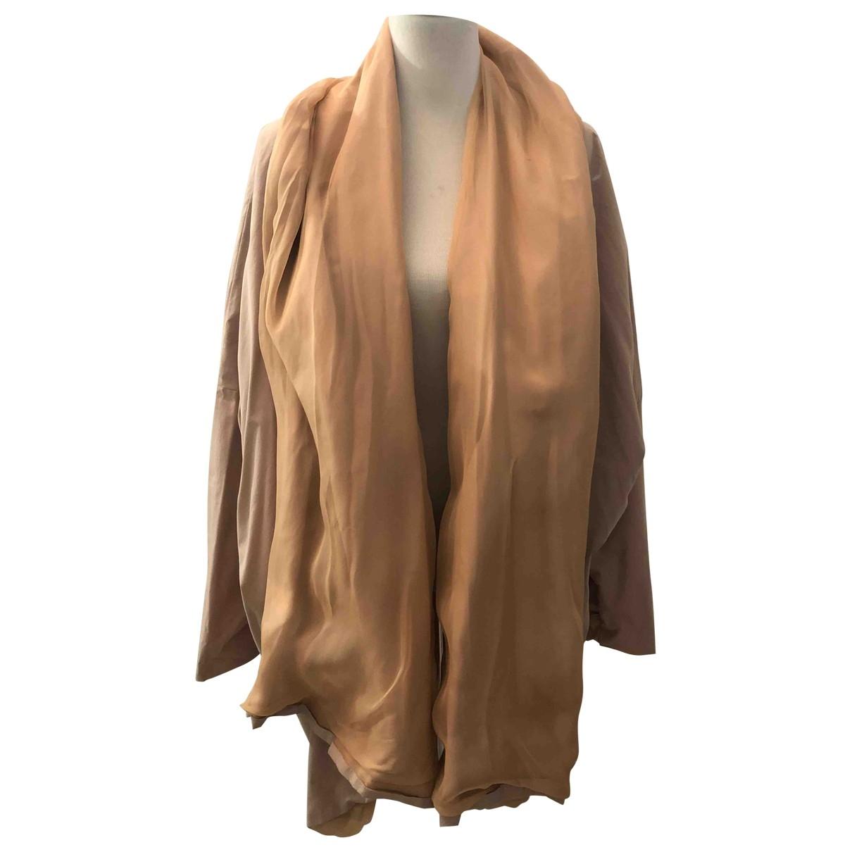 Dolce & Gabbana - Trench   pour femme en coton - beige