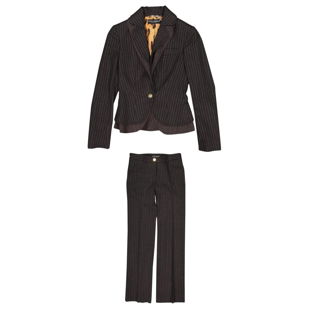 Dolce & Gabbana \N Jacke in  Grau Wolle