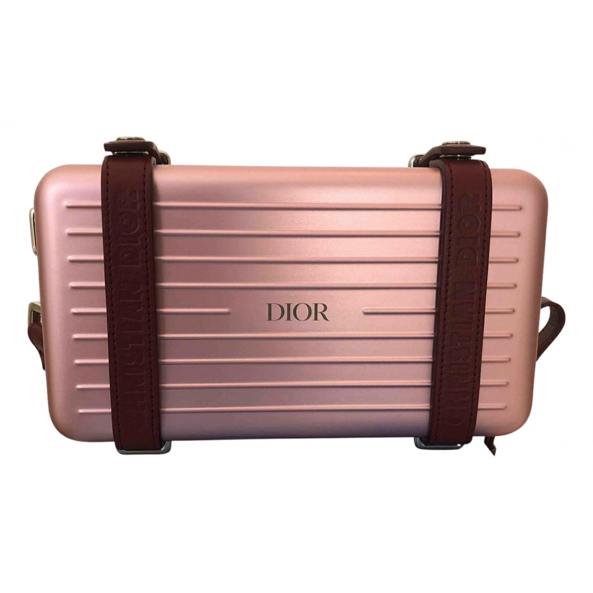 Dior X Rimowa Personal Pink Metal bag for Men \N