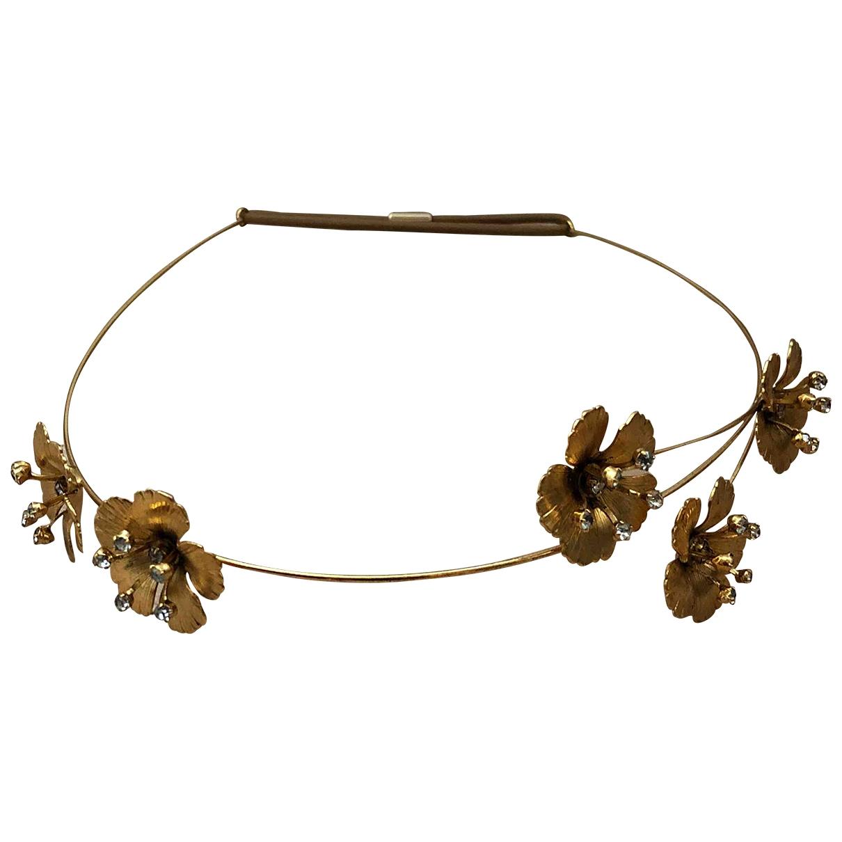 Jennifer Behr \N Gold Crystal Hair accessories for Women \N