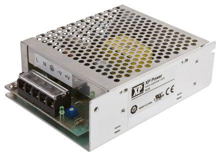 XP Power , 50W AC-DC Converter, 15V dc, Enclosed