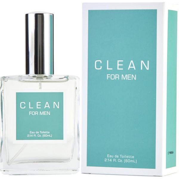 Clean - For Men : Eau de Toilette Spray 2 Oz / 60 ml