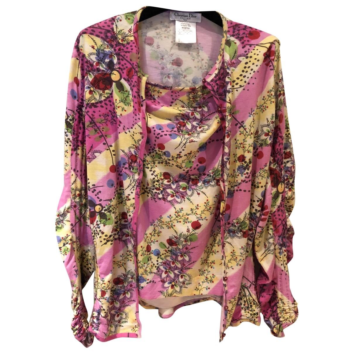 Dior \N Multicolour Wool Knitwear for Women 40 FR