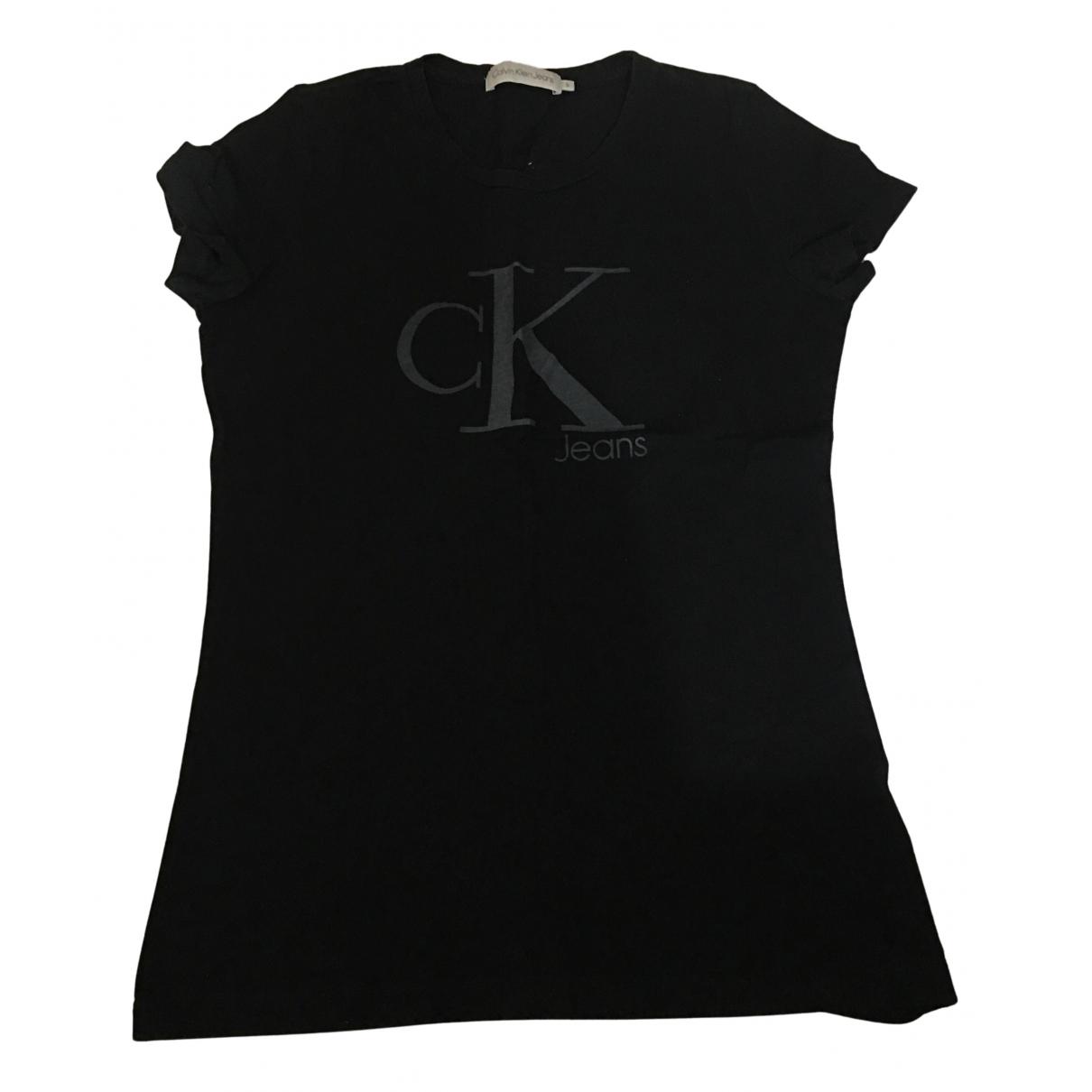 Calvin Klein N Black Cotton  top for Women S International