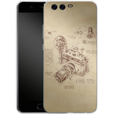 Huawei P10 Silikon Handyhuelle - Moment Catcher von Enkel Dika
