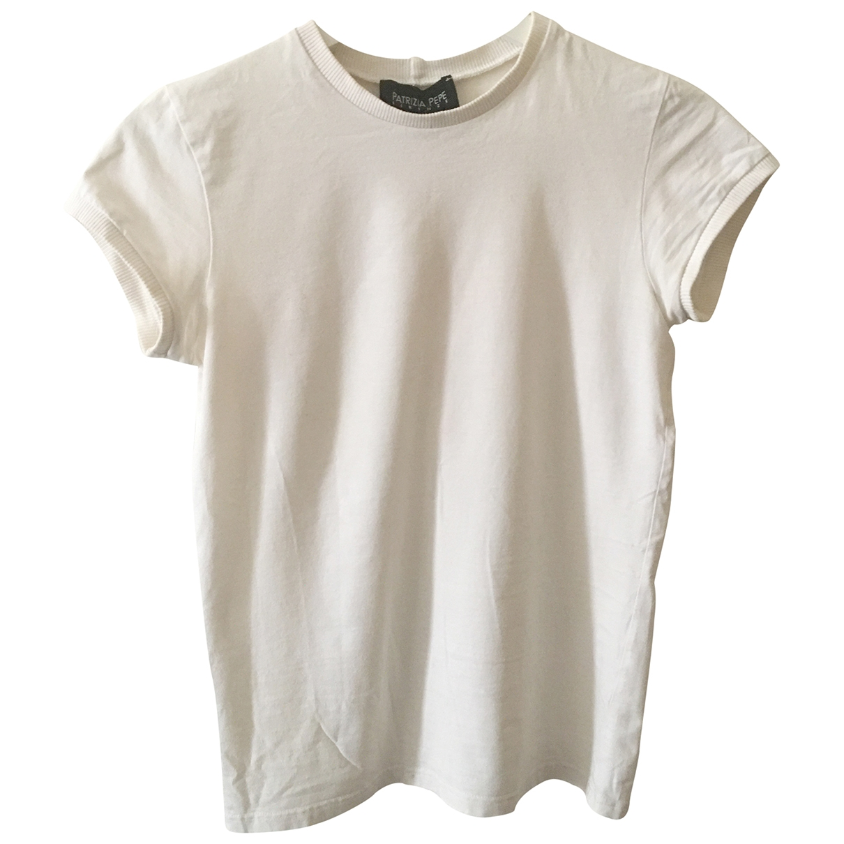 Patrizia Pepe \N White Cotton  top for Women S International