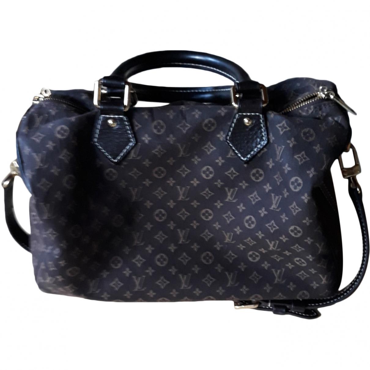 Louis Vuitton Speedy Brown Cotton handbag for Women \N