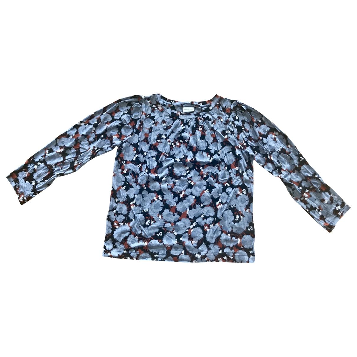 Dries Van Noten - Top   pour femme en coton - multicolore