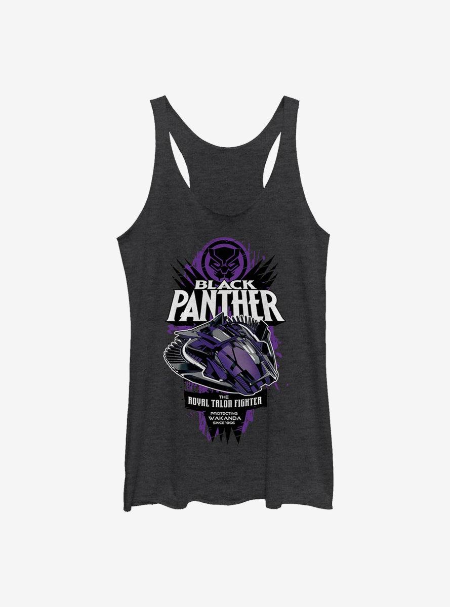 Marvel Black Panther Adval Talon Womens Tank Top
