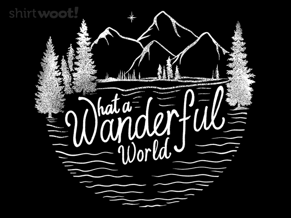What A Wanderful World T Shirt