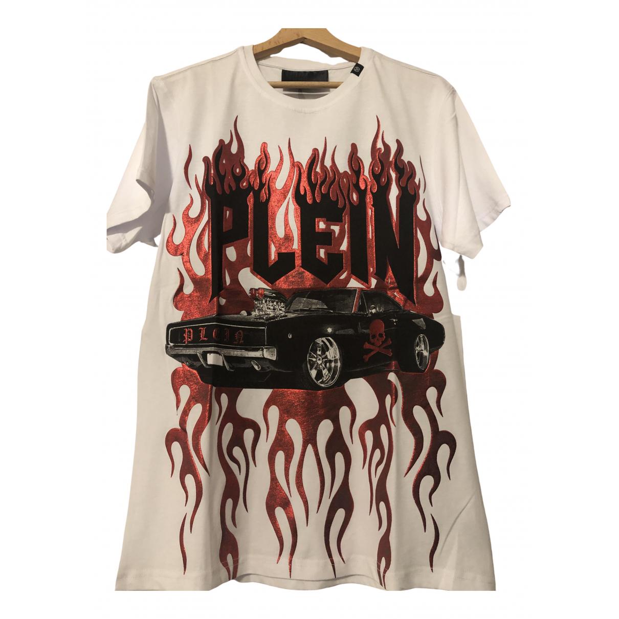 Philipp Plein \N T-Shirts in  Weiss Baumwolle