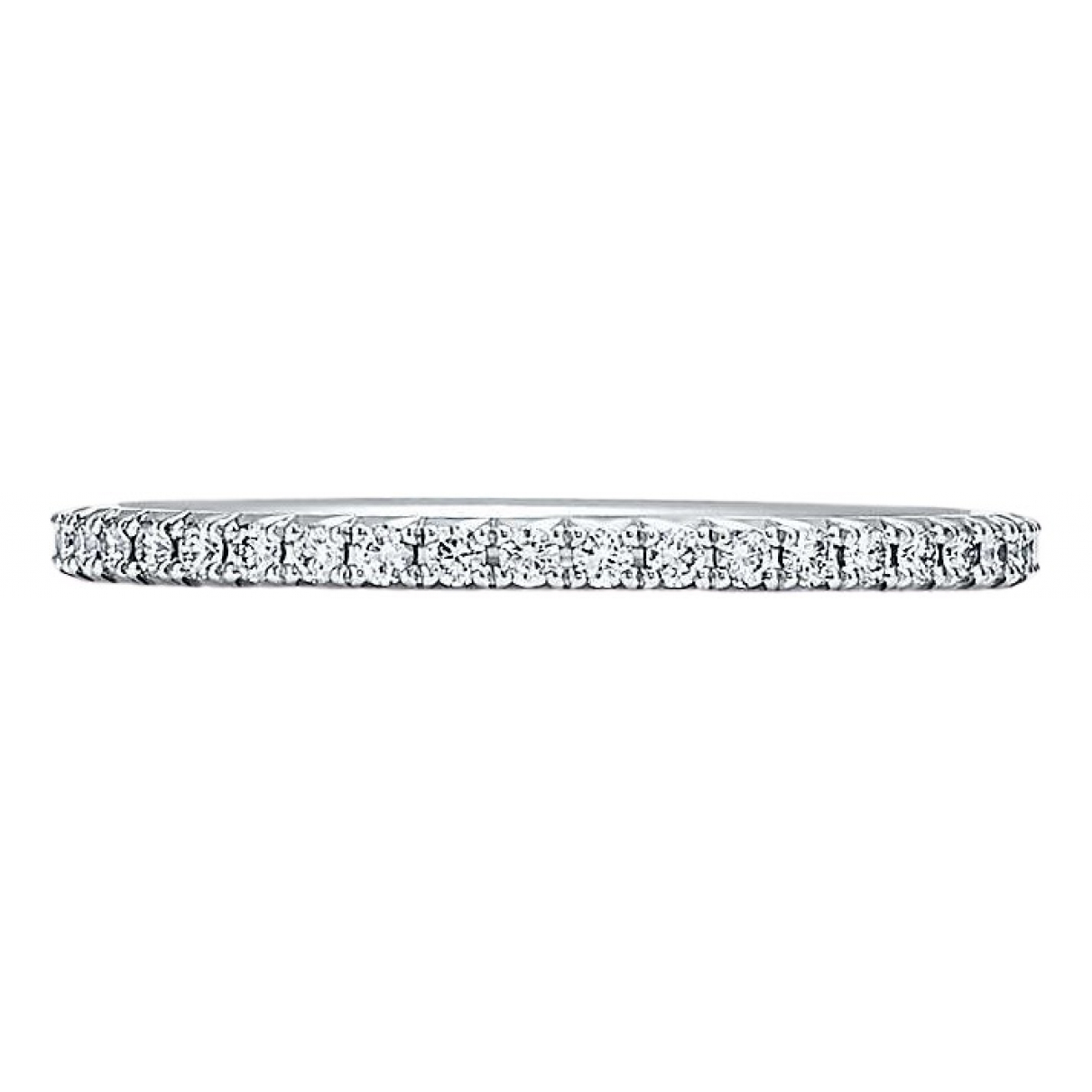 Tiffany & Co - Bague   pour femme en platine - argente