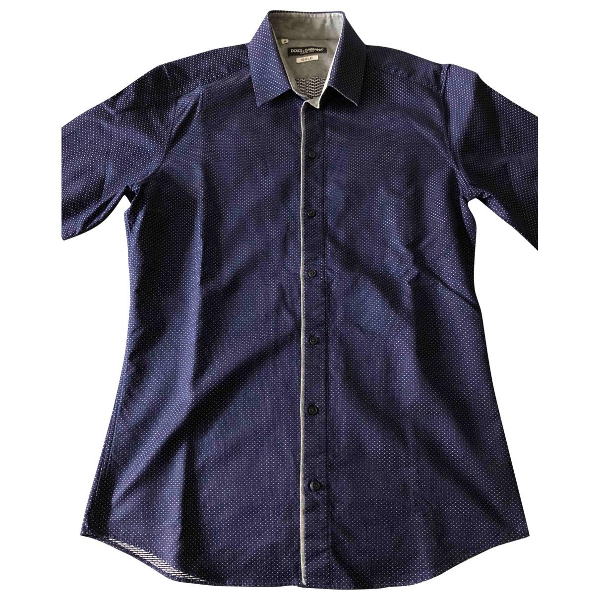 D&g \N Hemden in  Blau Baumwolle