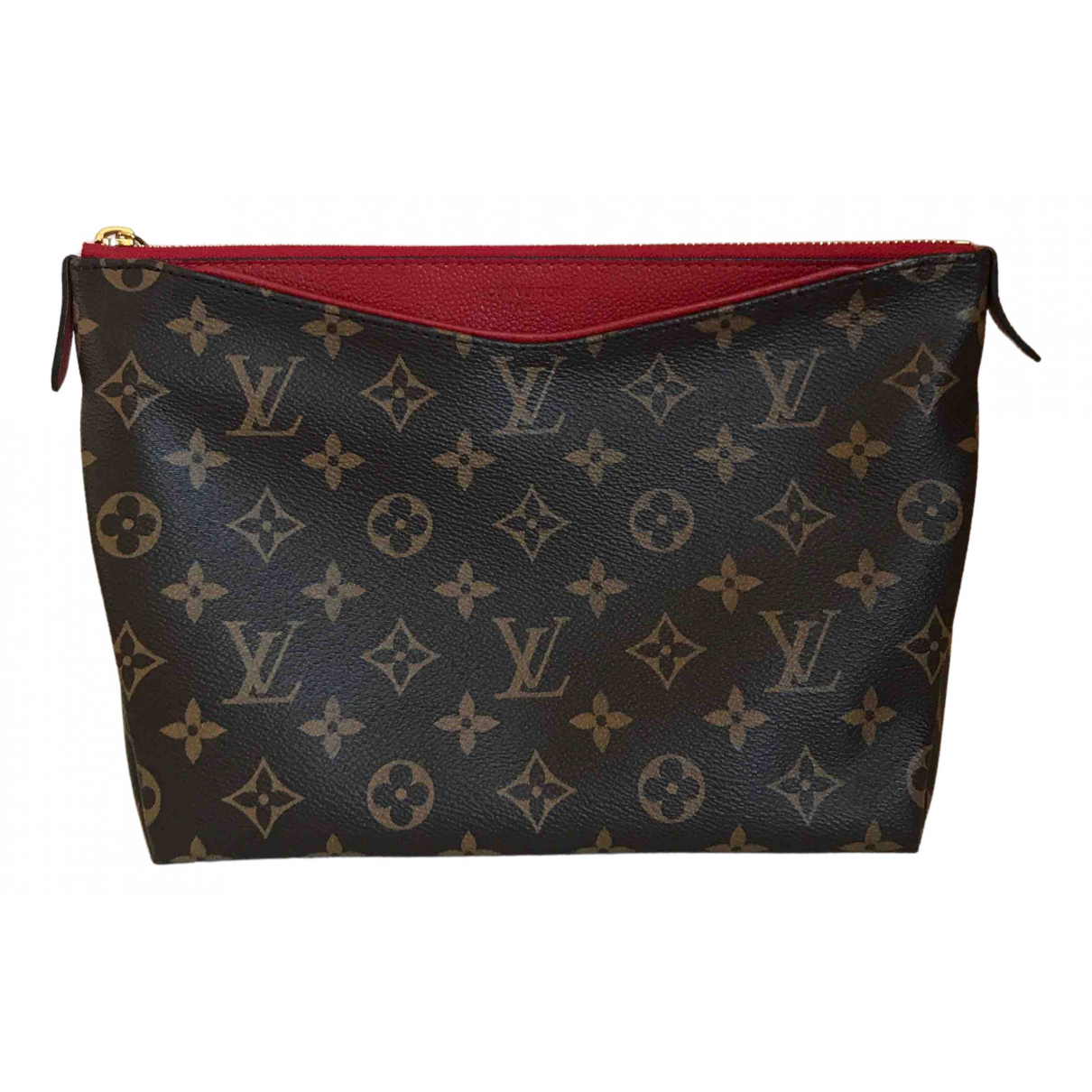 Louis Vuitton Pallas Brown Cloth Clutch bag for Women \N
