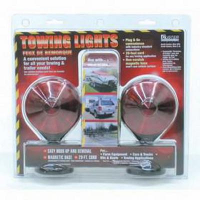 Curt Manufacturing Magnetic Auxiliary Towing Lights - 53200