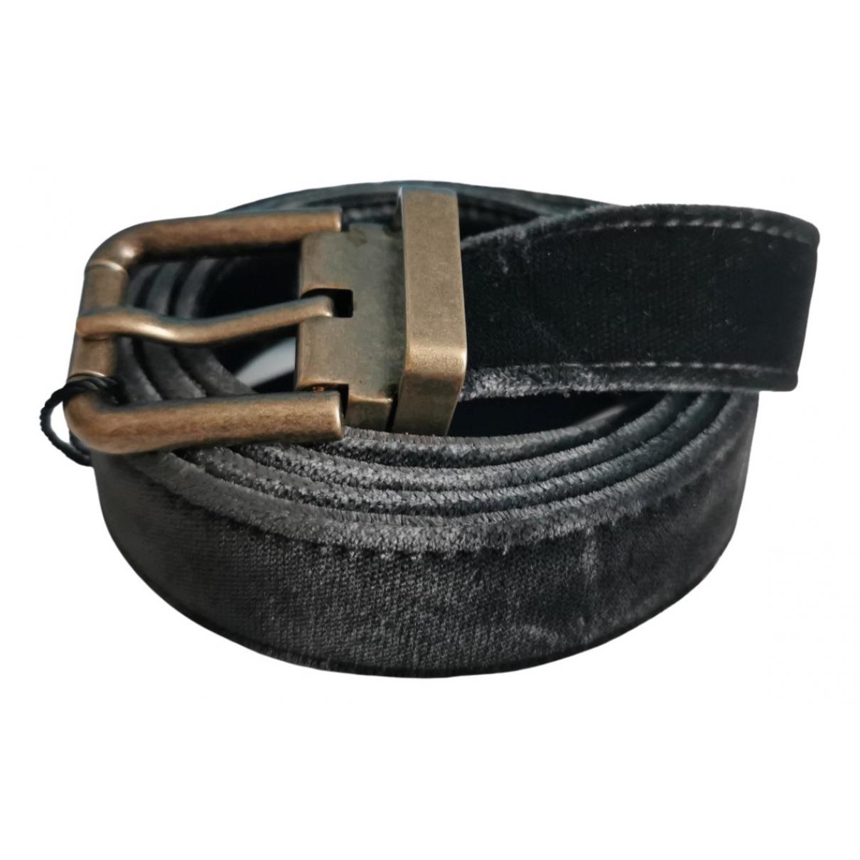 Dolce & Gabbana \N Black Cloth belt for Women L International