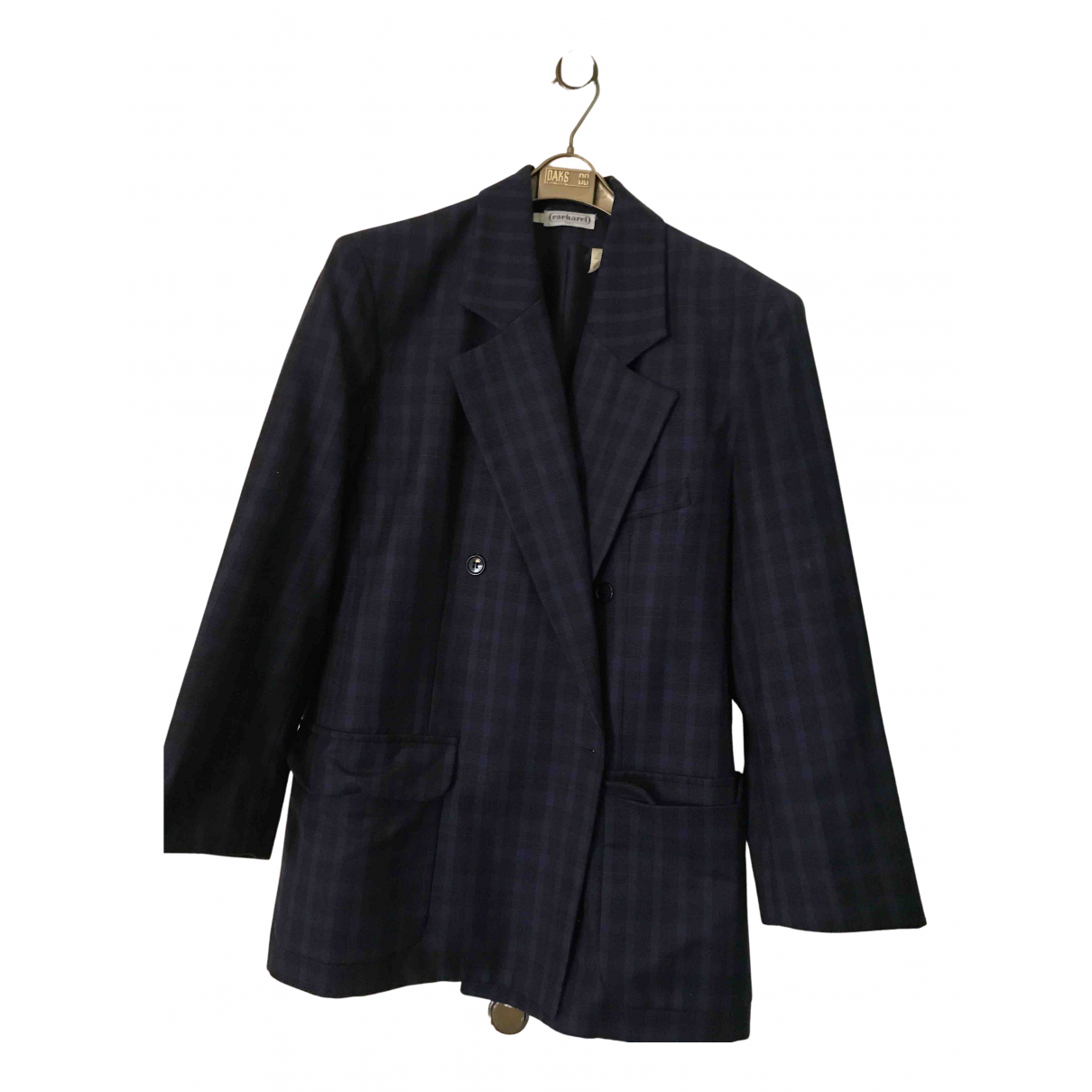 Cacharel N Navy Wool jacket for Women 42 FR