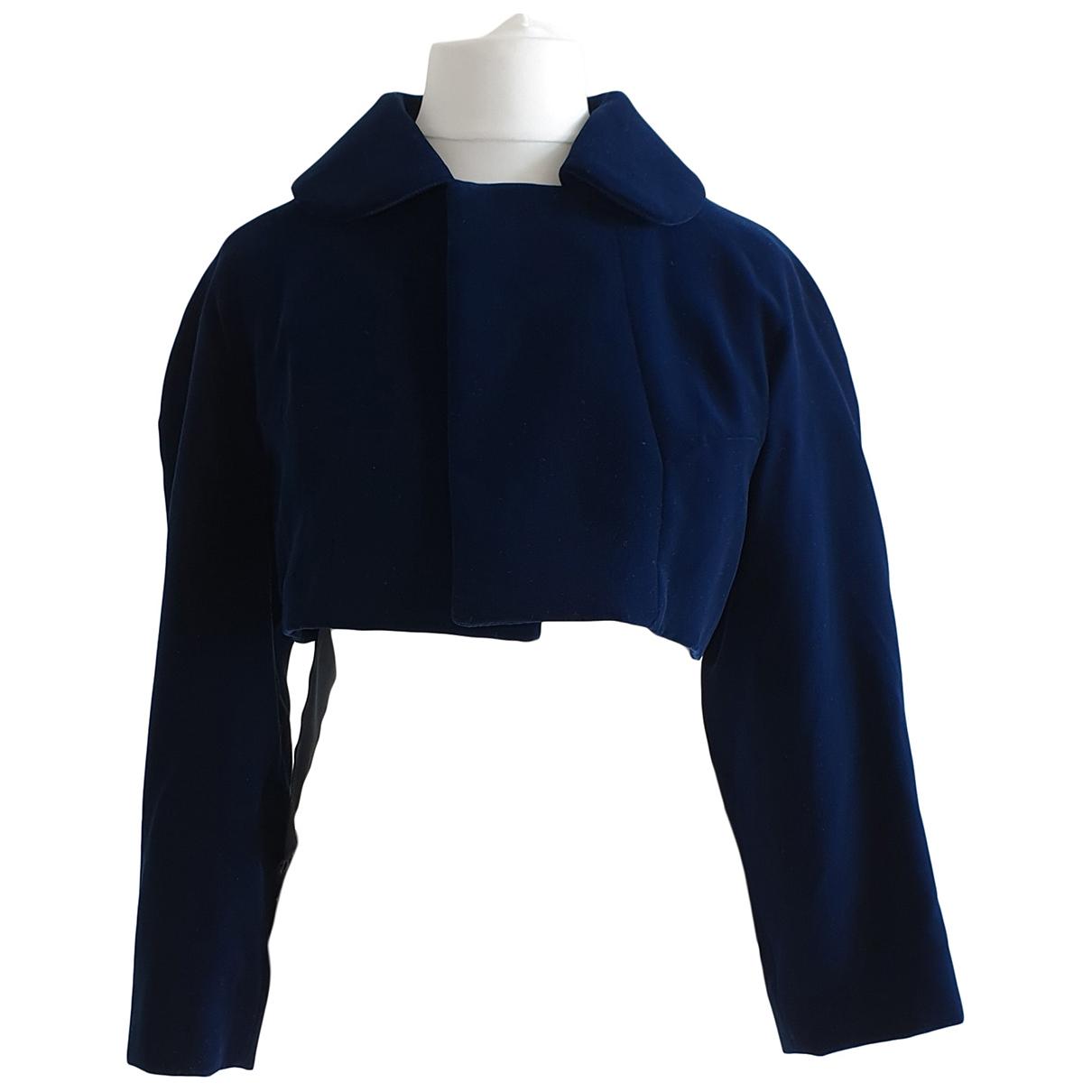 Comme Des Garcons \N Jacke in  Blau Baumwolle