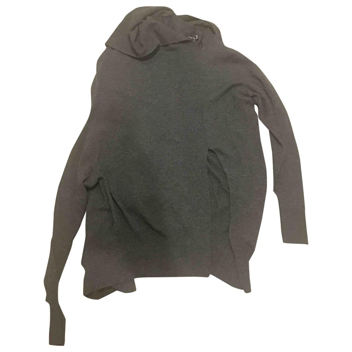 Yohji Yamamoto \N Pullover in  Grau Wolle