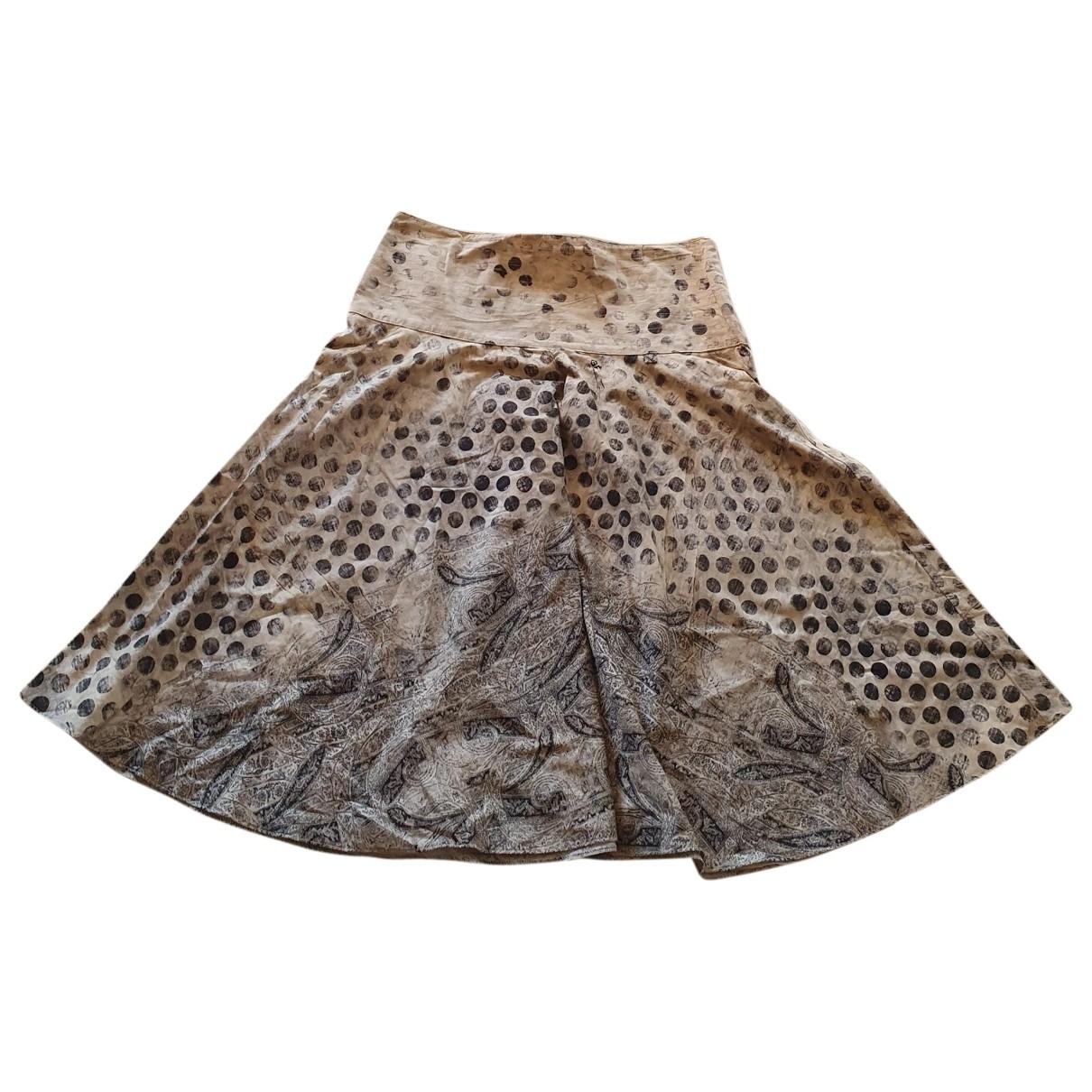 Gianfranco Ferre - Jupe   pour femme en coton - multicolore