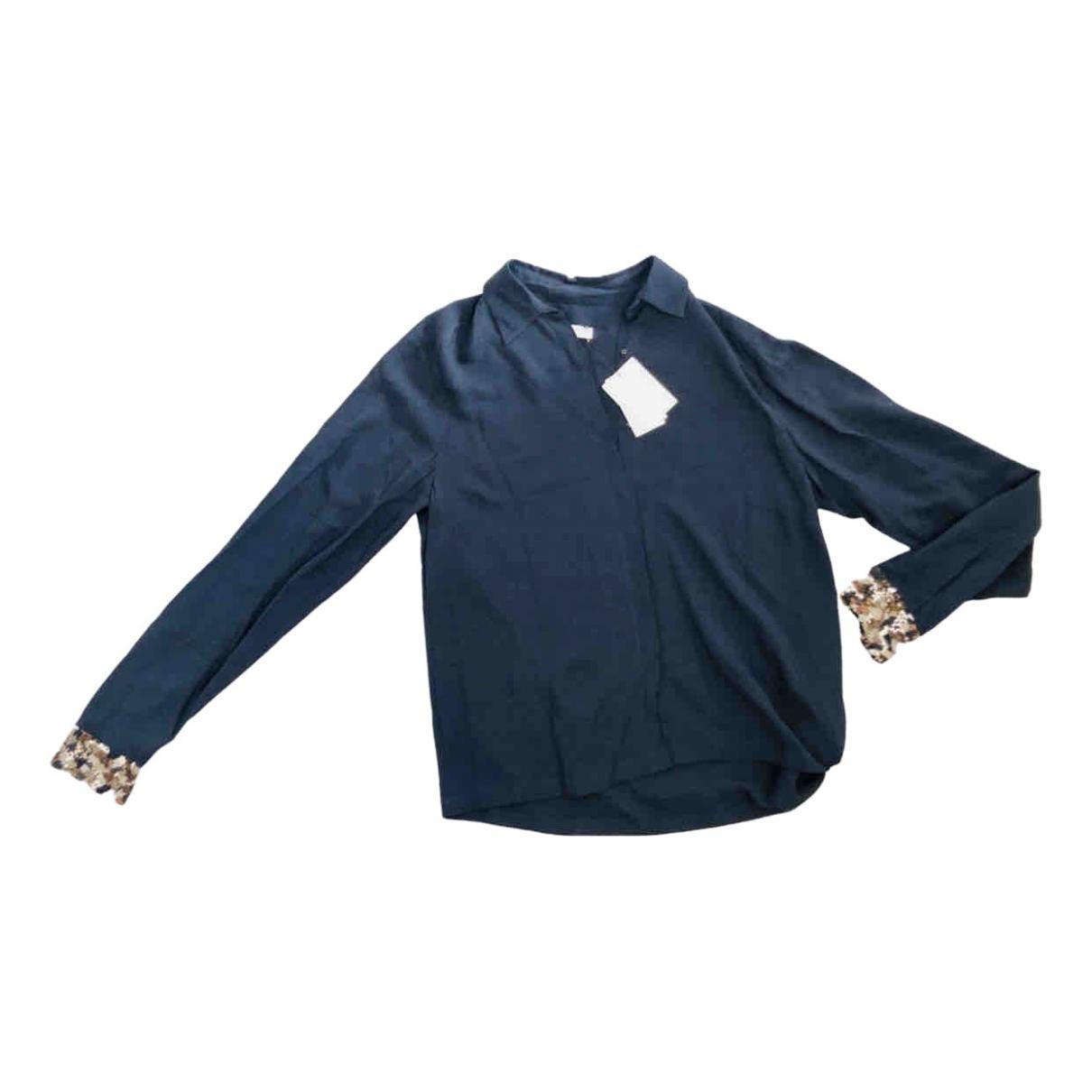 Dries Van Noten - Top   pour femme - bleu