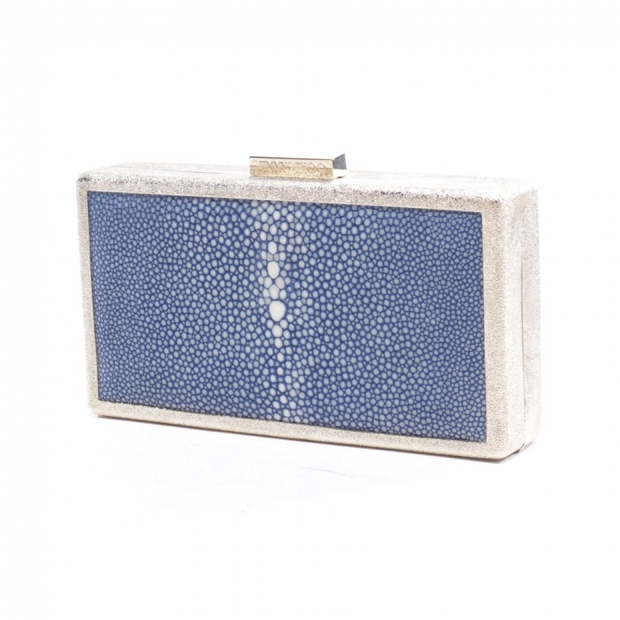 Jimmy Choo \N Metallic Stingray Clutch bag for Women \N