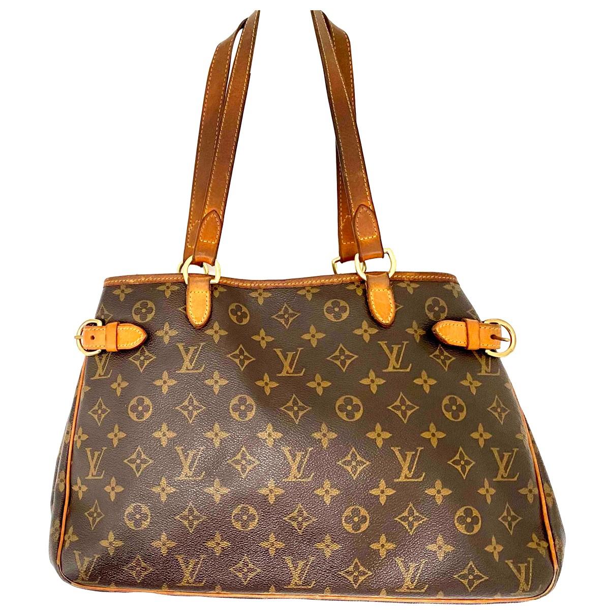 Louis Vuitton - Sac a main Bagatelle pour femme en toile - marron