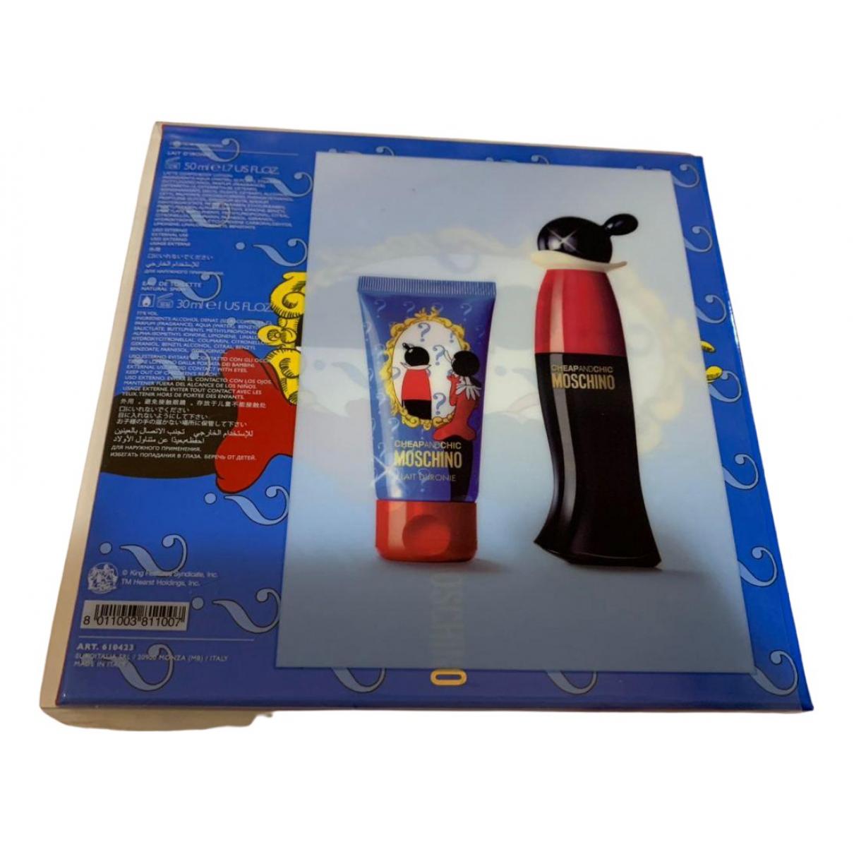 Moschino Cheap And Chic \N Accessoires und Dekoration Blau