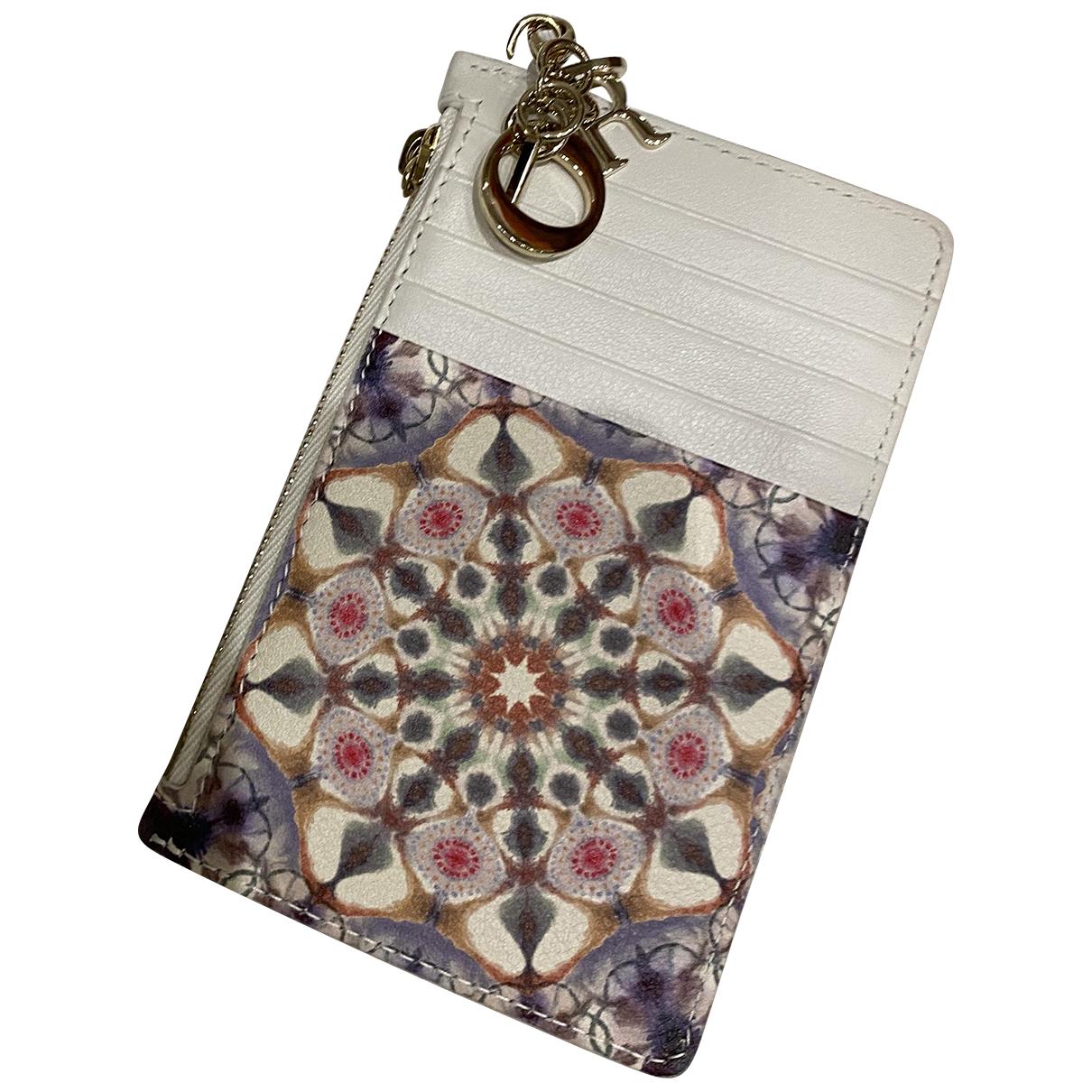 Dior - Portefeuille   pour femme en cuir