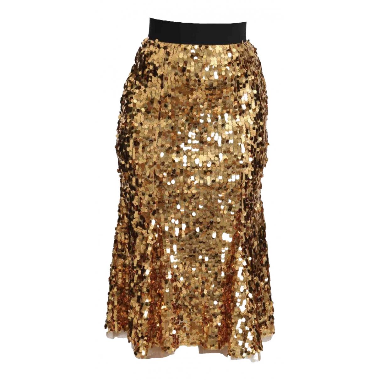 Dolce & Gabbana \N Rocke in  Gold Polyester