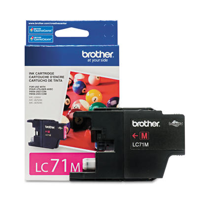 Brother LC71M Original Magenta Ink Cartridge