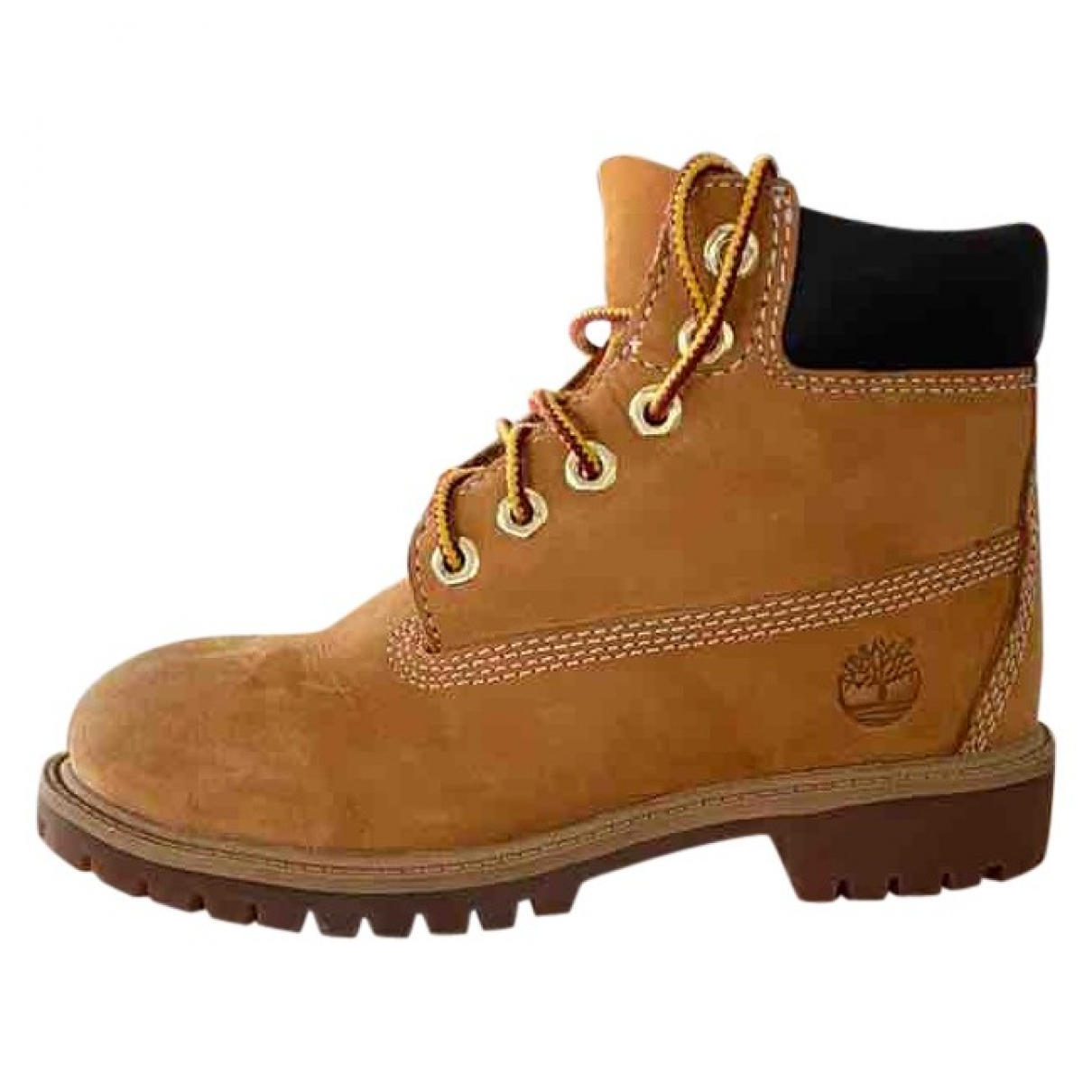 Timberland \N Brown Suede Boots for Kids 32 EU